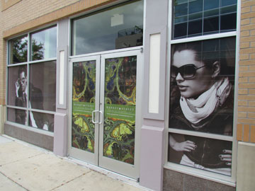 Custom See Through Vinyl Graphics For Windows Creative
